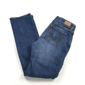 Levi's 525 Perfect Waist Straight Mid Rise Jeans
